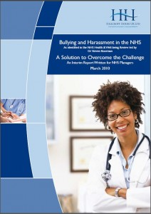 Bullying and Harassment in the NHS
