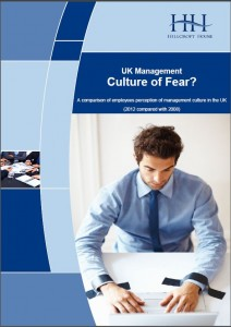 UK Management - Culture of Fear